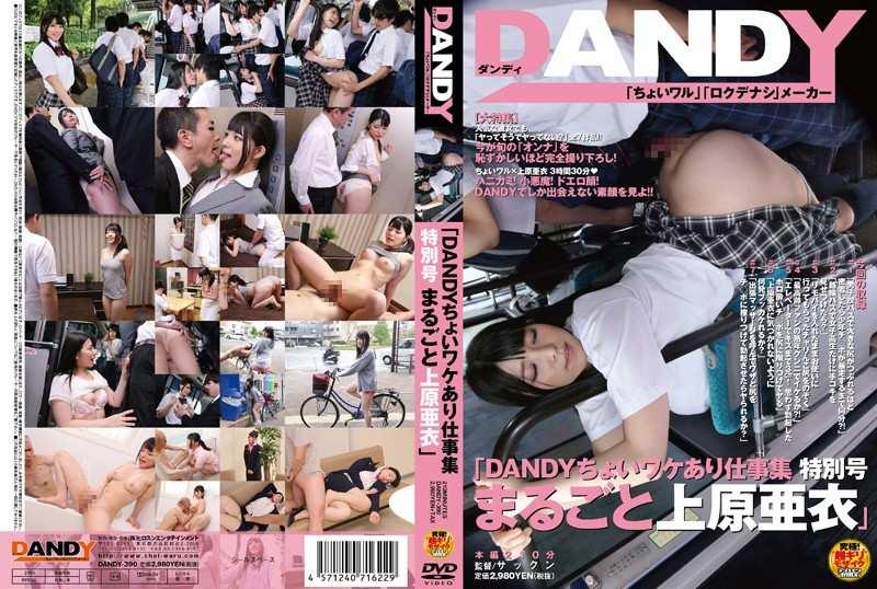 DANDY-390「DANDYちょいワケあり仕事集 特別号 まるごと上原亜衣」